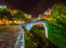 Old Bridge in Mostar - Bosnia and Herzegovina Stock Image