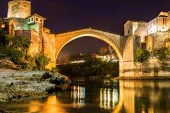 Old Bridge in Mostar - Bosnia and Herzegovina Royalty Free Stock Photos