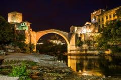 Old Bridge in Mostar - Bosnia and Herzegovina Royalty Free Stock Photography