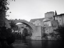 Old bridge mostar Stock Photography