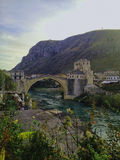 Old bridge mostar Stock Images