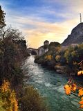 Old bridge mostar Stock Photos