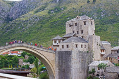 Old Bridge in Mostar Royalty Free Stock Photo