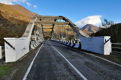 Old Bridge in mountains. Stock Photography