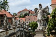 Old Bridge in Namest nad Oslavou Royalty Free Stock Photo