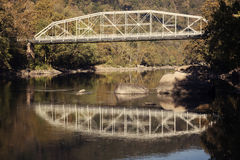 Old Bridge on New River Stock Photography