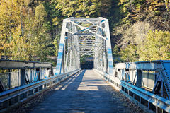 Old Bridge on New River Royalty Free Stock Photo