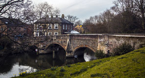 Old Bridge. In Norwich taken at mid day Stock Images