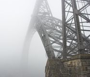 An old bridge of Oporto Stock Photos