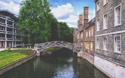 Mathematical Bridge Royalty Free Stock Images