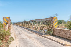 Old bridge over the Gamtoos River Stock Image