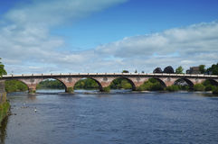 The Old Bridge over the River Tay. Perth, Scotland Royalty Free Stock Photo