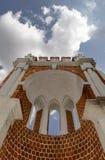 Old bridge in the park Tsaritsyno Royalty Free Stock Image