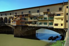 Old bridge, ponte vecchio, florence, italy Stock Photo