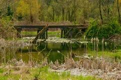 The old bridge Stock Photography