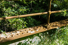 Old Bridge Rails Royalty Free Stock Images
