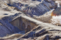 Old bridge - Riotinto Stock Photography