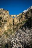 Old bridge at Ronda, Andalusia, Spain Royalty Free Stock Image