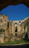 Old bridge at Ronda, Andalusia, Spain Stock Image