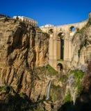 Old bridge at Ronda, Andalusia, Spain Royalty Free Stock Photo