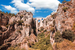 Old Bridge in Ronda, Malaga Province, Andalusia, Spine Royalty Free Stock Photos