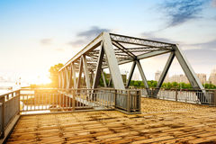 Old Bridge in Shanghai Royalty Free Stock Image