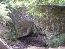 Old Bridge. This is the south of Argentina, a paradise of nature Royalty Free Stock Image