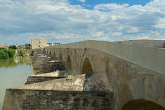 Old bridge, Spanish, city Cordoba Royalty Free Stock Photos