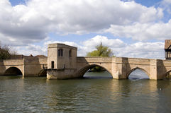 Old Bridge at St Ives Stock Images