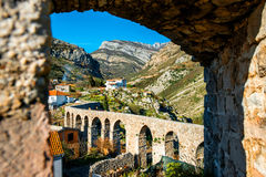 Old Bridge in Stari Bar Stock Images