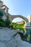 Old Bridge (Stari Most), Mostar Stock Photography