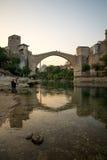 Old Bridge (Stari Most), Mostar Royalty Free Stock Photo