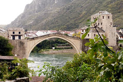 Old Bridge(Stari most) in Mostar Stock Photos