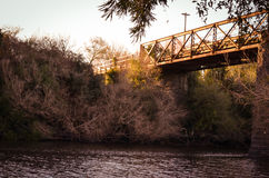 Old bridge Stock Images