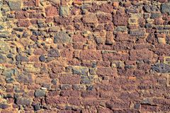 Old bridge stone wall texture stock illustration
