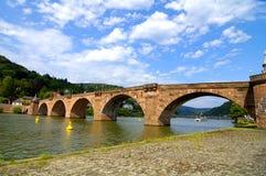 Old bridge to philosopher's road Stock Images
