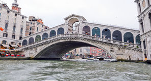 Old Bridge in Venice. Royalty Free Stock Images