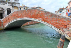 Old bridge in Venice Royalty Free Stock Photo