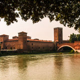 Old bridge verona Stock Photography