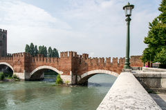Old bridge in Verona Royalty Free Stock Image