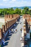 Old bridge in Verona over Adige Royalty Free Stock Image