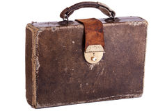 Old Briefcase Stock Photography