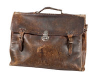 Old briefcase Stock Image