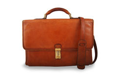 Free Old Briefcase With Sholder Strap Royalty Free Stock Photos - 19908938