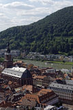 Old brige and Neckar river Royalty Free Stock Images