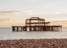 Old Brightion Pier Stock Photos