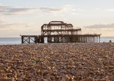 Old Brightion Pier Royalty Free Stock Photo