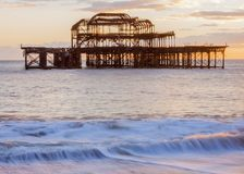 Old Brightion Pier Royalty Free Stock Photography