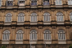 Old British Architecture in Mumbai city-IV Royalty Free Stock Photo