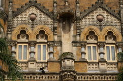 Old British Architecture at Victoria Terminus-III Royalty Free Stock Images
